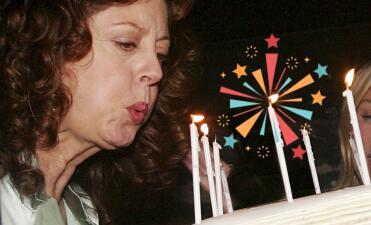 Susan Sarandon, 70 años radiante (y nos demuestra cómo se puede ser bella a cualquier edad)