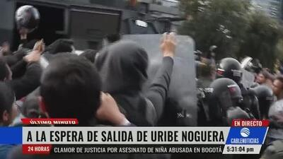 El acusado de violar y asesinar a la niña Yuliana Samboní se topa con la indignación de los colombianos al salir de la clínica