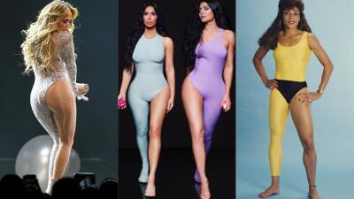 Este leotardo de una pierna no es un invento de las Kardashian (ni de JLo): una mexicana fue pionera