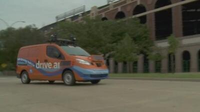 Reactivan el uso de vehículos autónomos en Arlington