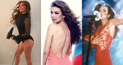 Después de ver estas fotos, los criticones del trasero de Thalía tendrán que comerse sus palabras