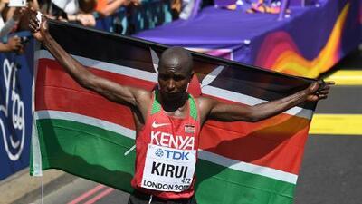 Kirui da a Kenia el quinto título mundial de maratón