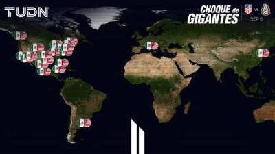Mapa interactivo: Los 30 estadios del Clásico de Concacaf