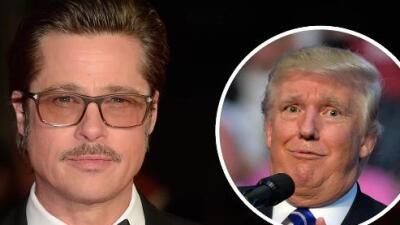 Brad Pitt critica a Donald Trump en nueva entrevista