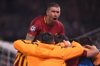 En fotos: Roma clasificó a cuartos de final de Champions tras vencer 1-0 a Shakhtar