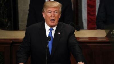 Tras el discurso de Trump, el Congreso sigue dividido por los temas de inmigración
