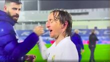 "Luka Modric a Piqué: ""Estás esperando para rajar ahora, eh"""