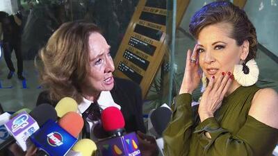 """Visiblemente afectada, Lorena Velázquez sugiere que la hija de Edith González """"es muy pequeña"""" para tanto dolor"""