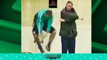 ¡Hristo Stoichkov no podía saltar la cuerda ni ayudado por Cruyff!