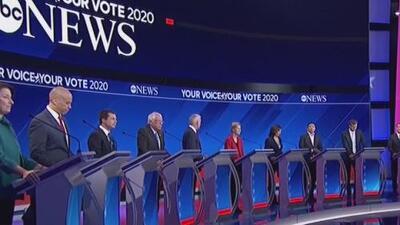 Opiniones divididas tras el debate demócrata