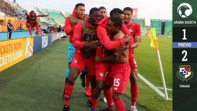 Panamá gana y hace historia en el Mundial Sub-20