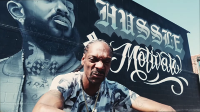 Snoop Dogg pays tribute to Nipsey Hussle