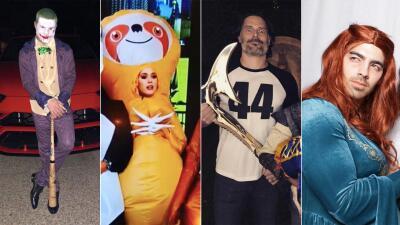 EN FOTOS: Los peores disfraces de los famosos para Halloween 2018
