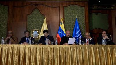 La sentencia por narcotráfico contra los sobrinos de Maduro perturba el diálogo en Venezuela