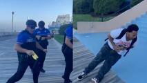 Policías usan taser contra jóvenes por usar cigarrillos electrónicos en áreas prohibidas