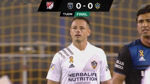 ¡Chicharito is back! LA Galaxy y SJ Earthquakes no pasaron del empate