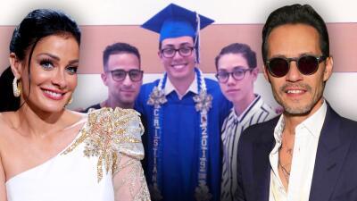 Dayanara Torres y Marc Anthony celebran en familia la graduación de su hijo Cristian