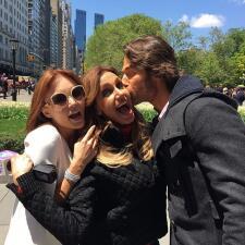 Sebastián Rulli y Angelique Boyer de paseo por Nueva York