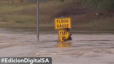 Autoridades de San Antonio piden a los conductores que extremen precauciones ante una inundación repentina