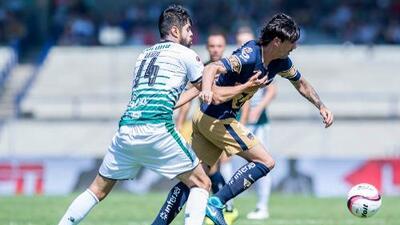Cómo ver Santos Laguna vs. Pumas en vivo, por la Liga MX