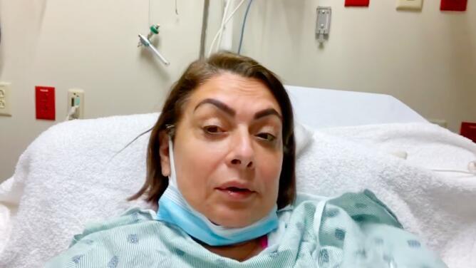 Hospitalizan a María Antonieta Collins por un golpe en la cabeza