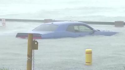 Dos ciudades de Georgia y Carolina del Sur quedan bajo agua con la llegada de Irma
