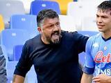 """Fuerte regaño de Gattuso a Hirving Lozano: """"Cállate y no me respondas"""""""