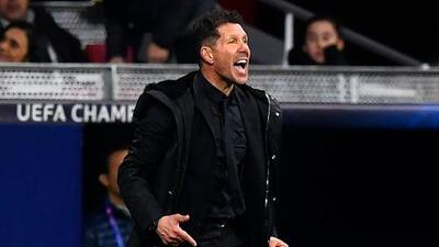 "Diego Simeone sobre su polémico festejo: ""Sí, así festejé porque tenemos huevos"""