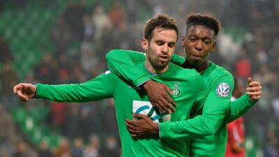 Saint Etienne 2-1 Ajaccio: Saint Etienne avanza a sufriendo en Copa de Francia