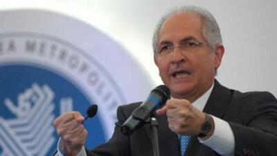 Detienen al alcalde opositor Antonio Ledezma
