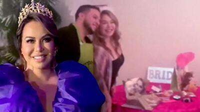 Con una corona y más espectacular que su despedida de soltera, Chiquis presentó su perfume