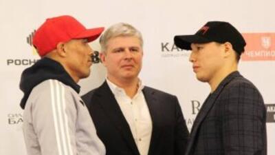 Ruslan Provodnikov y José Luis Castillo frente a frente