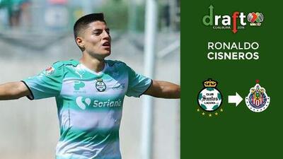 Ronaldo Cisneros reforzará la delantera de Chivas