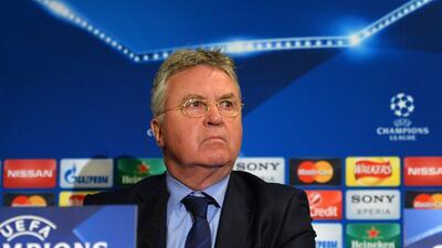 """Guus Hiddink: """"El Chelsea está en un proceso de transición"""""""