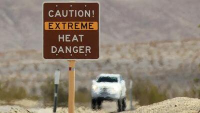 Alerta por la ola de calor en la costa oeste de EEUU y las fuertes lluvias que se esperan en el este