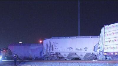 Tren que trasportaba diesel se descarrila en San Antonio