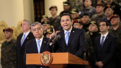 Jimmy Morales expulsa a la comisión de las Naciones Unidas contra la impunidad en Guatemala