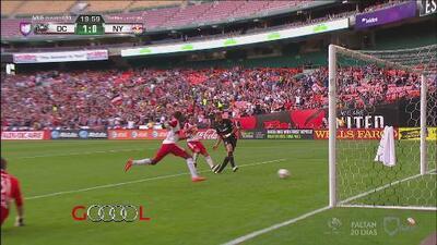 Álvaro Saborío redondea con gol una gran jugada del D.C. United ante el NY Red Bulls