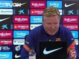 Ronald Koeman pide no confiarse ante el Rayo Vallecano en la Copa del Rey