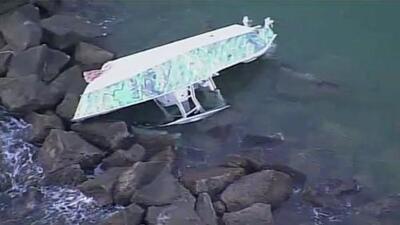 Identifican a las víctimas mortales del bote que se accidentó en un muelle de Miami Beach