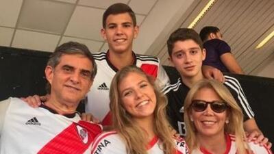 ¡Arde la polémica! Hermana del presidente de la Conmebol es hincha de River Plate