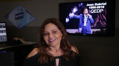 """""""Uno de los mejores conversadores que yo voy a conocer, sin duda es Juan Gabriel"""", recuerda Maria Elena Nava"""