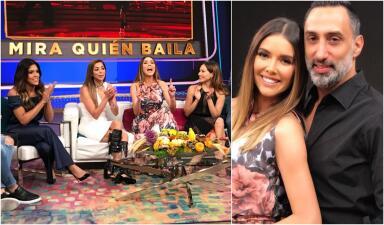 Marlene Favela llegó eliminada de Mira Quién Baila, pero feliz y enamorada