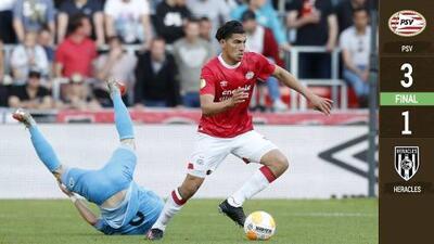 PSV ganó en la última jornada pero no le alcanzó para evitar la coronación del Ajax
