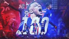 Kylian Mbappé anota centenar de goles con el PSG