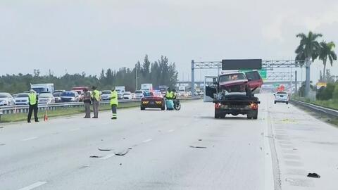 Al menos seis muertos en dos accidentes de tránsito en el condado de Miami-Dade