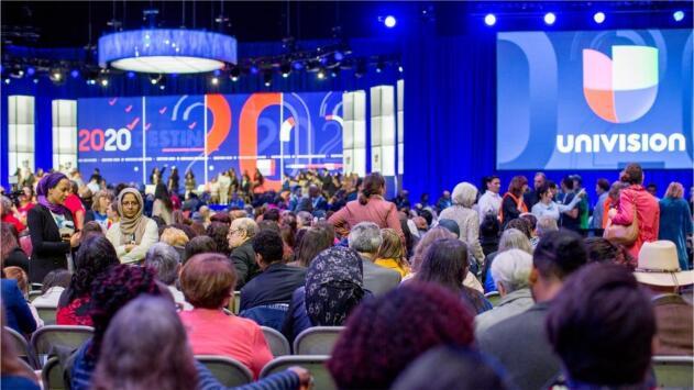 La reforma migratoria, DACA y el control de armas marcan el foro presidencial demócrata 'Real América'