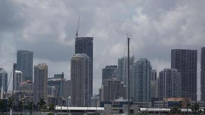 Registran riesgo ligero de tormentas severas para la noche de este miércoles en Miami