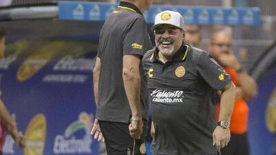 Maradona tranquiliza a todos, asegura no hay motivos para preocuparse