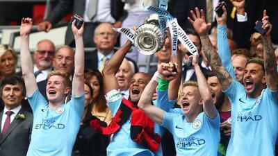 Manchester City, el equipo más ganador en Inglaterra de los últimos años